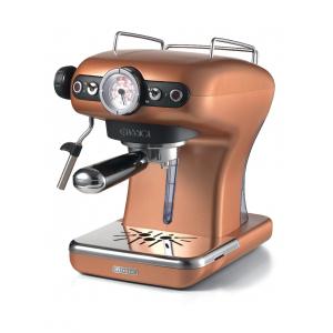 1389/18 Ariete Classic Кофеварка эспрессо. Цвет медный. Мощность 900 Вт., 15 бар, ретро дизайн (40)