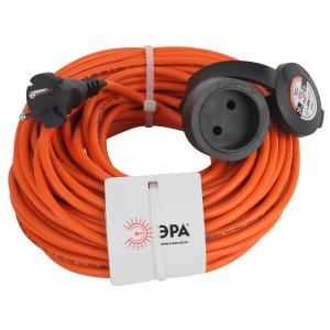ЭРА Удлинитель силовой UPx-1-2x0.75-20m-IP44 в бухте б/з 1 гн 20м ПВС 2х0.75 (10/240)