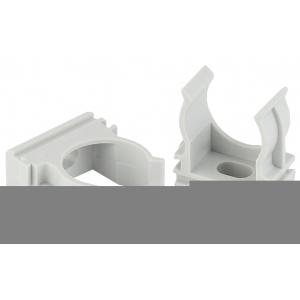 ЭРА Крепеж-клипса (cерый) для трубы d 40мм (30/420/10080)