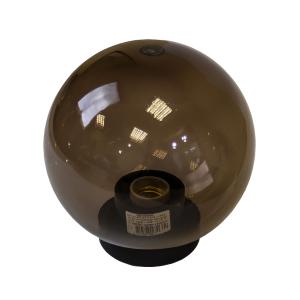 НТУ 01-60-205 ЭРА Светильник садово-парковый шар дымчатый D200mm Е27 (6/90)