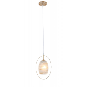 Светильник подвесной (подвес) Rivoli Letiz 9012-201 1 * E27 40 Вт модерн