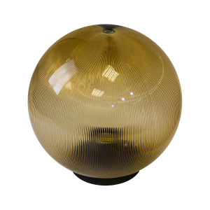 НТУ 02-100-303 ЭРА Светильник садово-парковый шар золотистый призма D300mm Е27 (4/32)