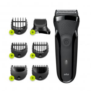 Braun Электрическая бритва 300BT Black Shave&Style (6/720)