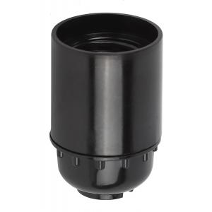 ЭРА Патрон Е27 подвесной, бакелит, черный (50/200/7000)