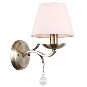 Бра светильник Rivoli Aroma 2039-401 настенный 1 * E14 40 Вт классика