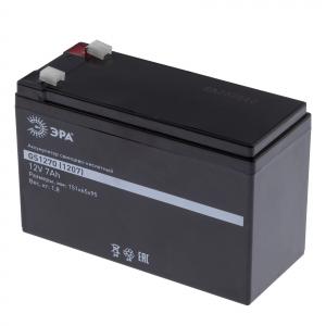ЭРА Аккумулятор GS1270/1207  (Cвинцово-кислотный 12V 7) (8/192)