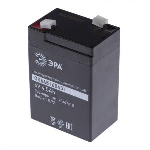 ЭРА Аккумулятор GS645 (Cвинцово-кислотный 6V 4,5) (20/660)