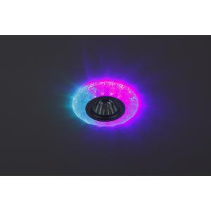 DK LD6 BL/WH Светильник ЭРА декор cо светодиодной подсветкой( белый), голубой (50/1400)