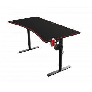 Игровой компьютерный стол Trust  23542 160 x 82 см с беспроводным зарядным устройством GXT 1190 Magnicus