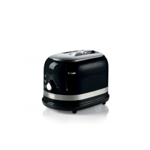 149/12 Ariete Moderna Тостер на 2 слота. Мощность 600-800 Вт, цвет: черный (4/40)