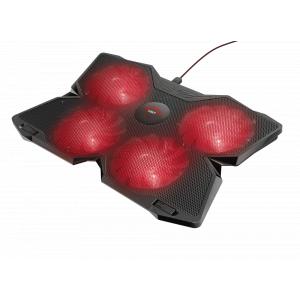 Подставка для ноутбука Trust  20817 охлаждающая с подсветкой 17 дюймов