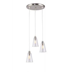 Светильник подвесной (подвес) Rivoli Picco 5038-203 3 * E14 40 Вт лофт - кантри