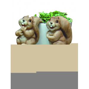GRHP1-16-1 GREEN APPLE Декоративная подвеска Белочка 7.1*6.2*9 (144/1296)