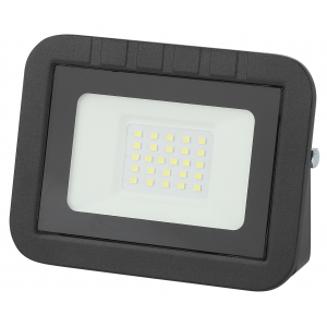 LPR-061-0-65K-020 ЭРА Прожектор светодиодный уличный 20Вт 1900Лм 6500К 135x100x28 (50/1400)