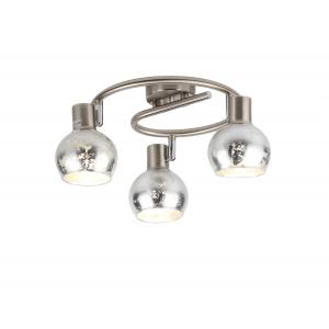 Светильник настенно-потолочный спот Rivoli Craquelure 7008-731 3 x E14 40 Вт поворотный