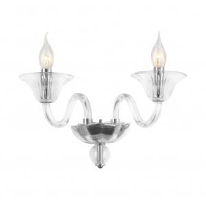 Бра светильник Rivoli Nudo 1008-402 настенный 2 x E14 40 Вт классика