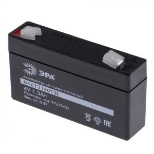 ЭРА Аккумулятор GS613 (Cвинцово-кислотный 6V 1,3) (40/1440)