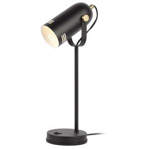 ЭРА наст.светильник N-117-Е27-40W-BK черный (12/48)