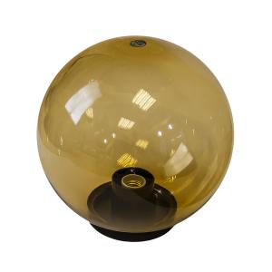 НТУ 01-60-203 ЭРА Светильник садово-парковый шар золотистый D200mm Е27 (6/90)