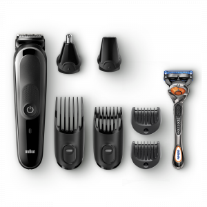 Braun Электрический триммер MGK5060 + Бритва Gillette + 2 кас (3/300)