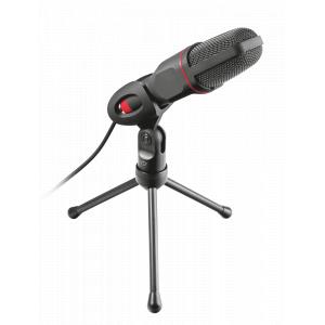 22191 Trust Игровой стрим микрофон GXT 212 стойка (30/540)