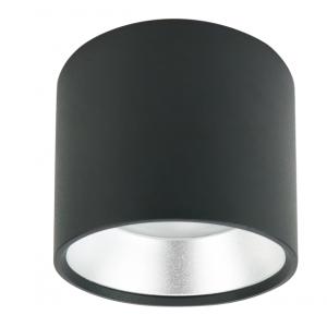 OL8 GX53 BK/SL Подсветка ЭРА Накладной под лампу Gx53, алюминий, цвет черный+серебро (40/800)