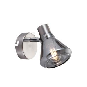 Светильник настенно-потолочный спот Rivoli Nebbia 7003-701 1 x E14 40 Вт поворотный