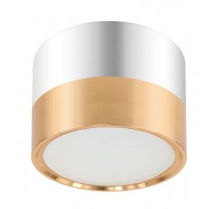 OL7 GX53 GD/CH Подсветка ЭРА Накладной под лампу Gx53, алюминий, цвет золото+хром (40/1440)