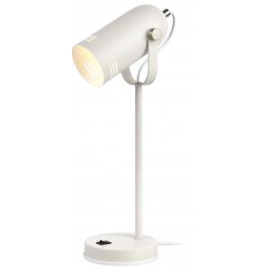 ЭРА наст.светильник N-117-Е27-40W-W белый (12/48)