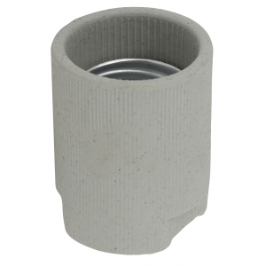 ЭРА Патрон Е40 подвесной,керамика, белый (50/2400)