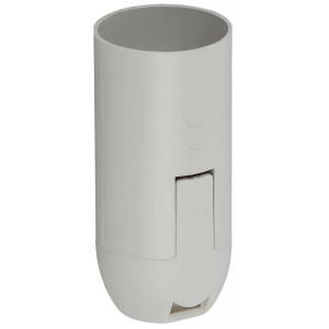 ЭРА Патрон Е14 подвесной,пластик, белый (50/1000/9000)