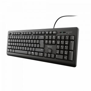 Клавиатура Trust  24147 для компьютера проводная Primo