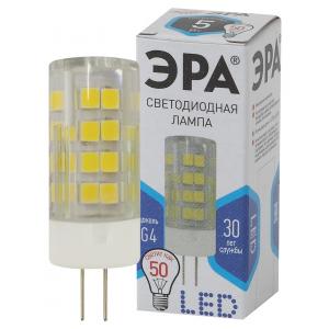 LED JC-5W-220V-CER-840-G4 ЭРА (диод, капсула, 5Вт, нейтр, G4) (100/1000/30000)