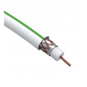 ЭРА Кабель коаксиальный SAT 703 B, 75 Ом, Cu/(оплётка Cu 75%), PVC, цвет белый, бухта 50 м (10/210)