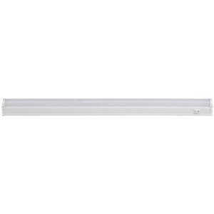 LLED-01-08W-6500-W ЭРА Линейный светодиодный светильник с выключателем  8Вт 6500К L572мм (25/875)