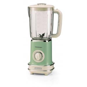 568/14 Ariete Vintage Блендер стационарный. Мощность-500 Вт, объем-1,5 л. Цвет зеленый (6/72)