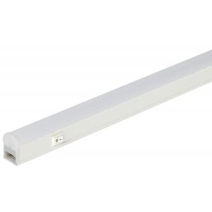 LLED-01-12W-4000-W ЭРА Линейный светодиодный светильник с выключателем  12Вт 4000К L872мм (25/800)