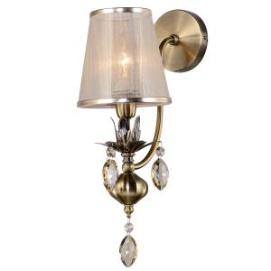 Бра светильник Rivoli Duchessa 2015-401 настенный 1 x E14 40 Вт классика