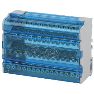 NO-224-17 ЭРА Шины на DIN-рейку в корпусе (кросс-модуль) ШНК 4х15 3L+PEN (40/840)
