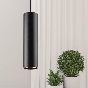 PL1 GU10 BK 300 Подсветка ЭРА подвесной, GU10, D80*300мм, черный (20/240)