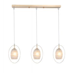 Светильник подвесной (подвес) Rivoli Letiz 9012-203 3 * E27 40 Вт модерн