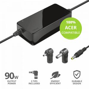 Зарядное устройство для ноутбука Trust  23391 для компьютеров ACER мощность 90 Вт