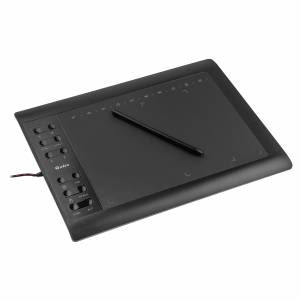 Графический планшет Intro  GPX2010 Пассивное перо 12 программируемых+10 мультимедиа клавиш