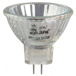GU4-MR11-20W-12V-30CL ЭРА (галоген, софит, 20Вт, нейтр,GU4) (10/300/9600)