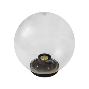 НТУ 01-60-202 ЭРА Светильник садово-парковый шар прозрачный D200mm Е27 (6/90)