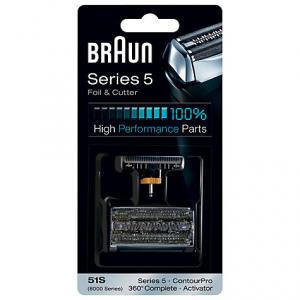Braun Сетка + режущий блок 51S Series5 (10/320/3840)