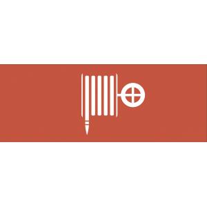 """INFO-DBA-009 ЭРА Самоклеящаяся этикетка 200х60мм """"Пожарный гидрант"""" DPA/DBA (5/20000)"""