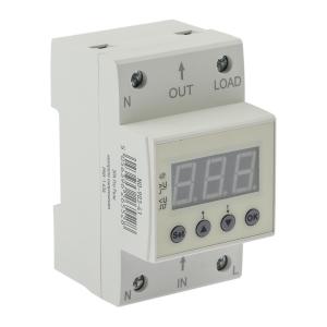 Реле контроля напряжения ЭРА PRO NO-903-41 РКН-1 63А электронный дисплей