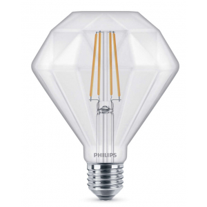 Philips LEDClassic 40W Diamond E27 2700K CL (4/192)