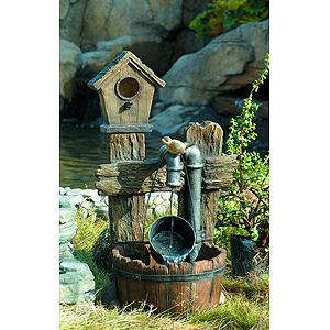 GWXF02400-S GREEN APPLE Фонтан садовый Лесной дом 73,5см (6)